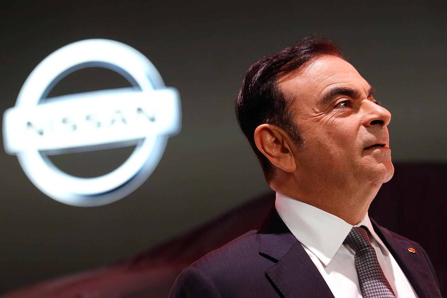Nissan shares tumble after chairman's arrest