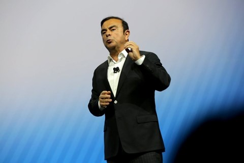 Carlos Ghosn: chairman of Nissan