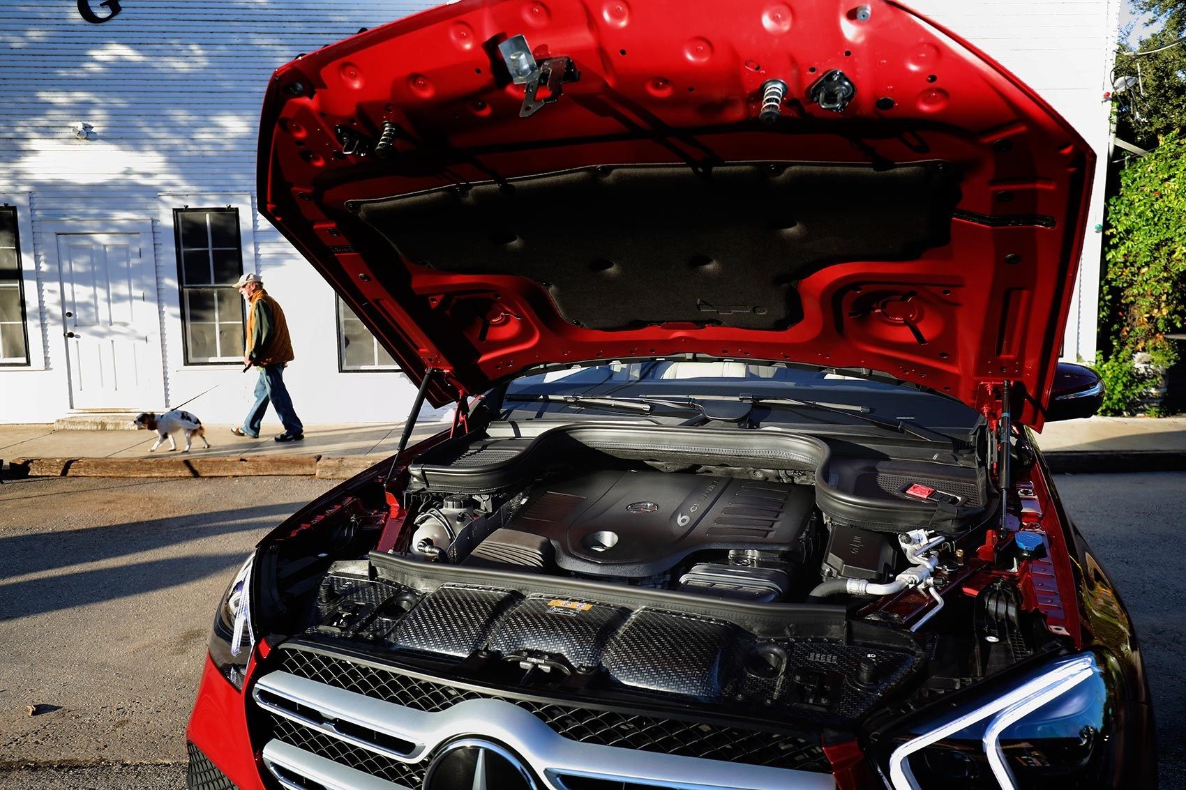 Mercedes GLE engine and specs