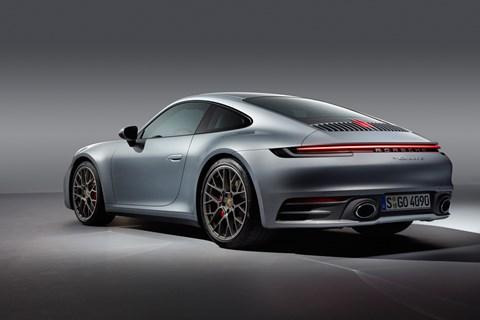 Porsche 911 992 Carrera S front