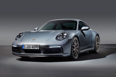 The new 2019 Porsche 911 Coupe