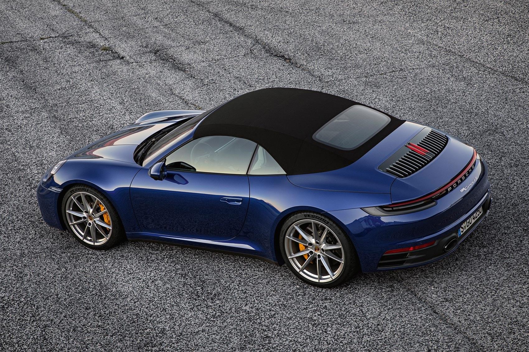 The New 2019 Porsche 911 Cabriolet 992 Generation
