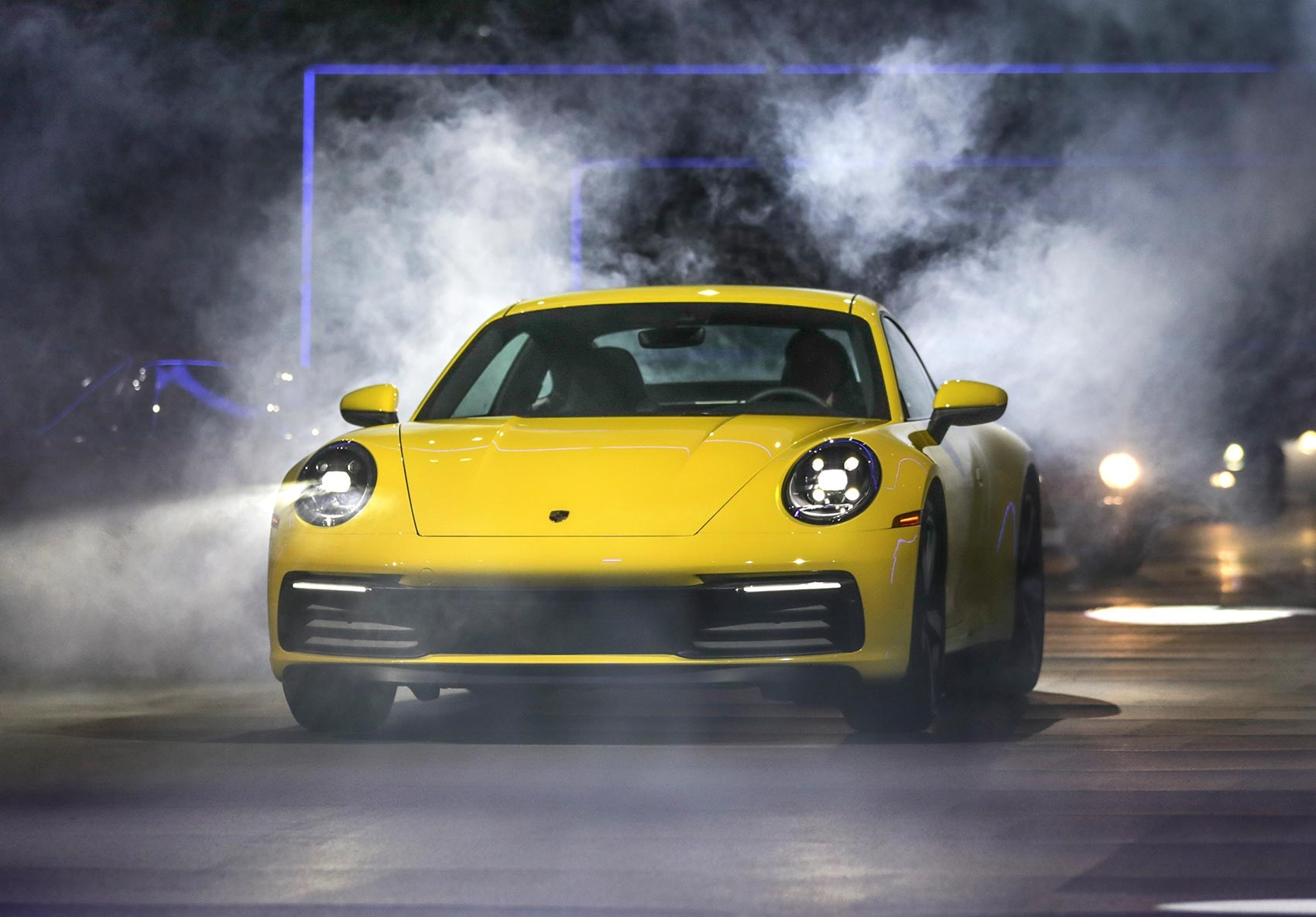 ... Porsche 992: the new 911's world debut in Los Angeles