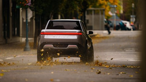 Rivian R1T: beating the electric Tesla pick-up to market