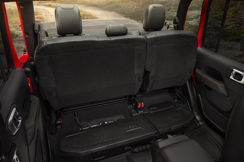 Jeep Gladiator stadium seats