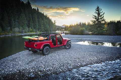 Jeep Gladiator red river
