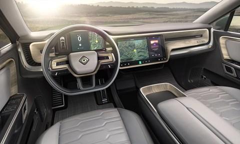 Rivian R1S interior