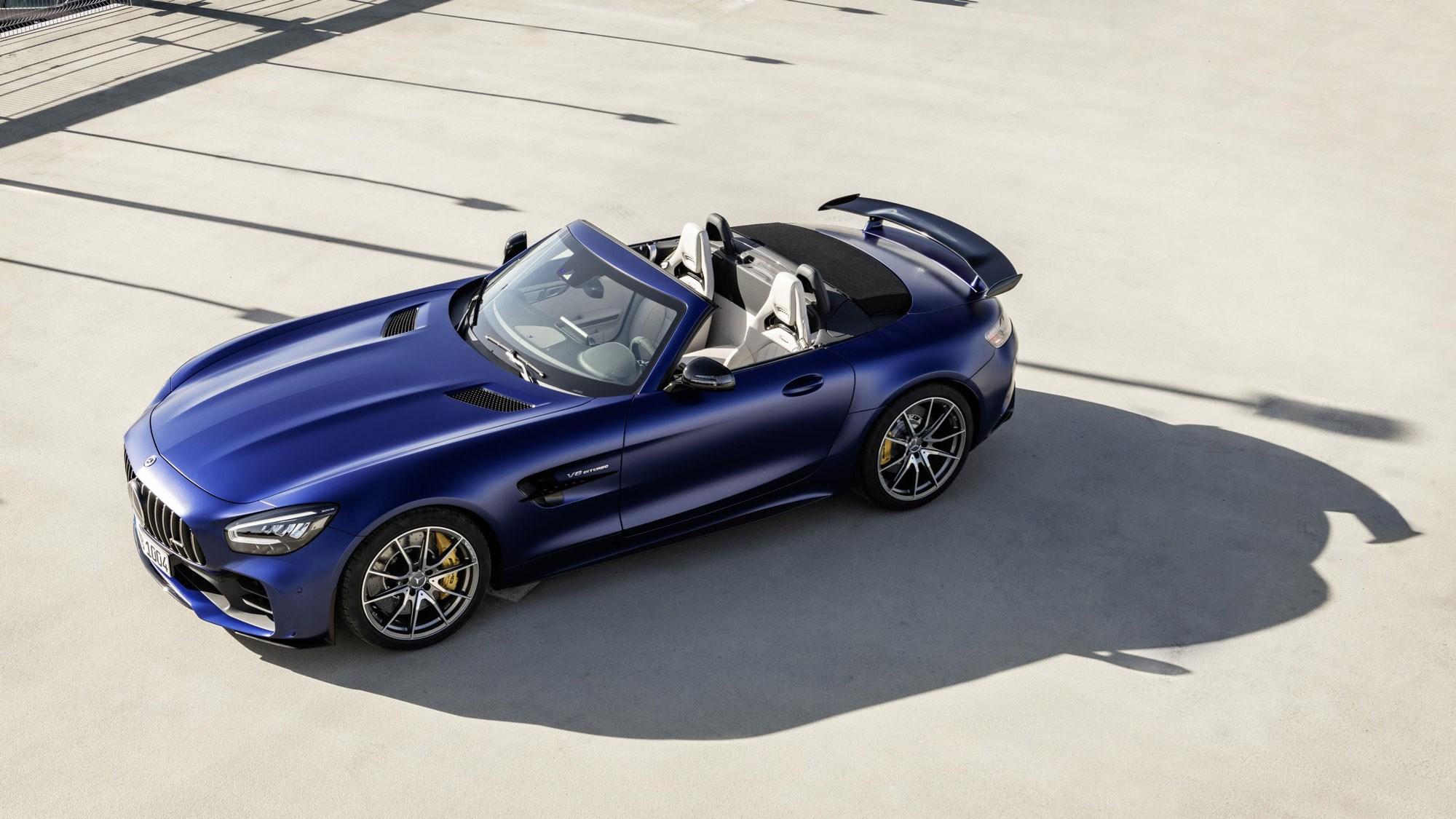 Mercedes Amg Gt R Roadster Revealed Ahead Of Geneva Car Magazine
