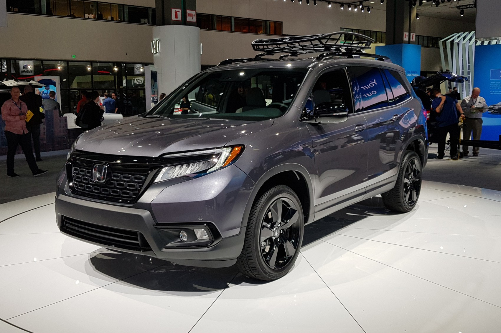 Honda Passport (2018): US-spec SUV promises roominess ...