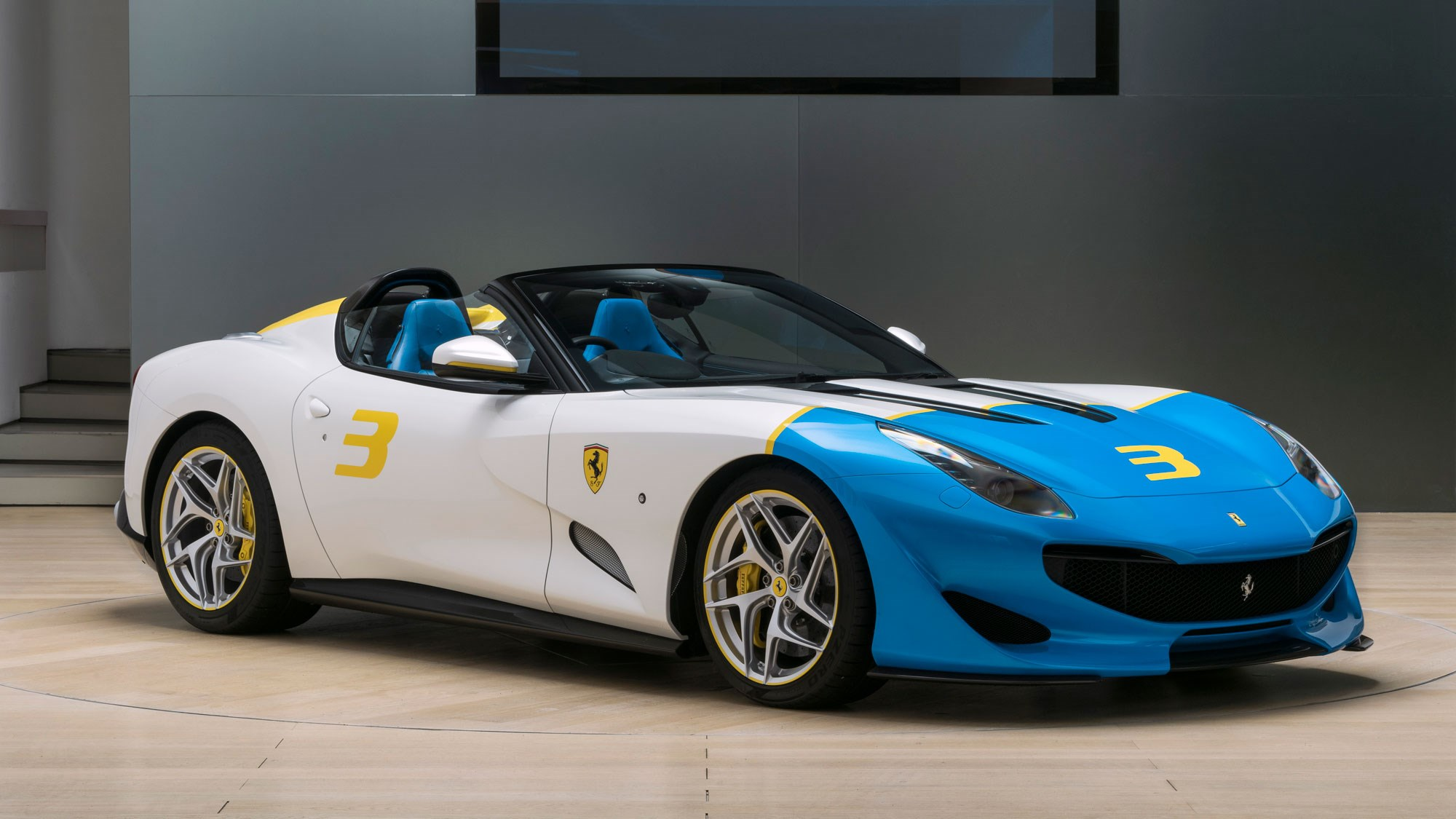 The Ferrari SP3JC Is A One-Off V12 Powered Roadster