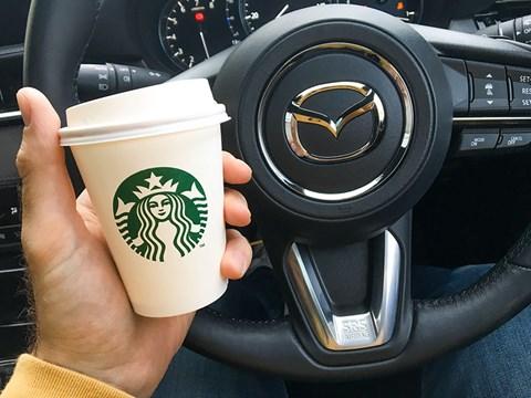 Mazda 6 Tourer long-term test: a coffee stop