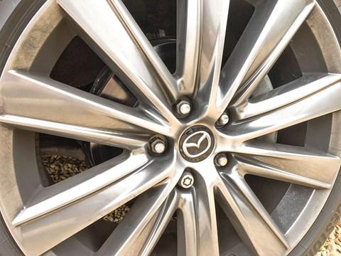 Alloy wheels on our Mazda 6 Tourer