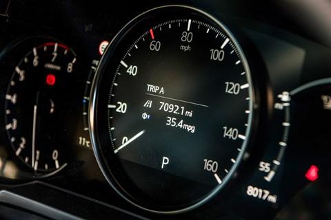 Mazda 6 instruments