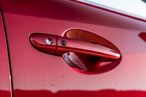 Mazda 6 doorhandle