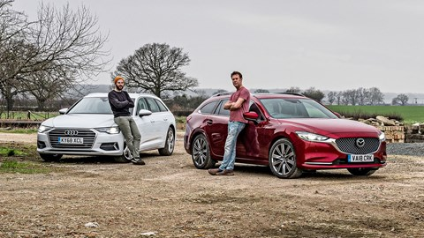 We compare notes on our Audi A6 Avant and Mazda 6 Tourer