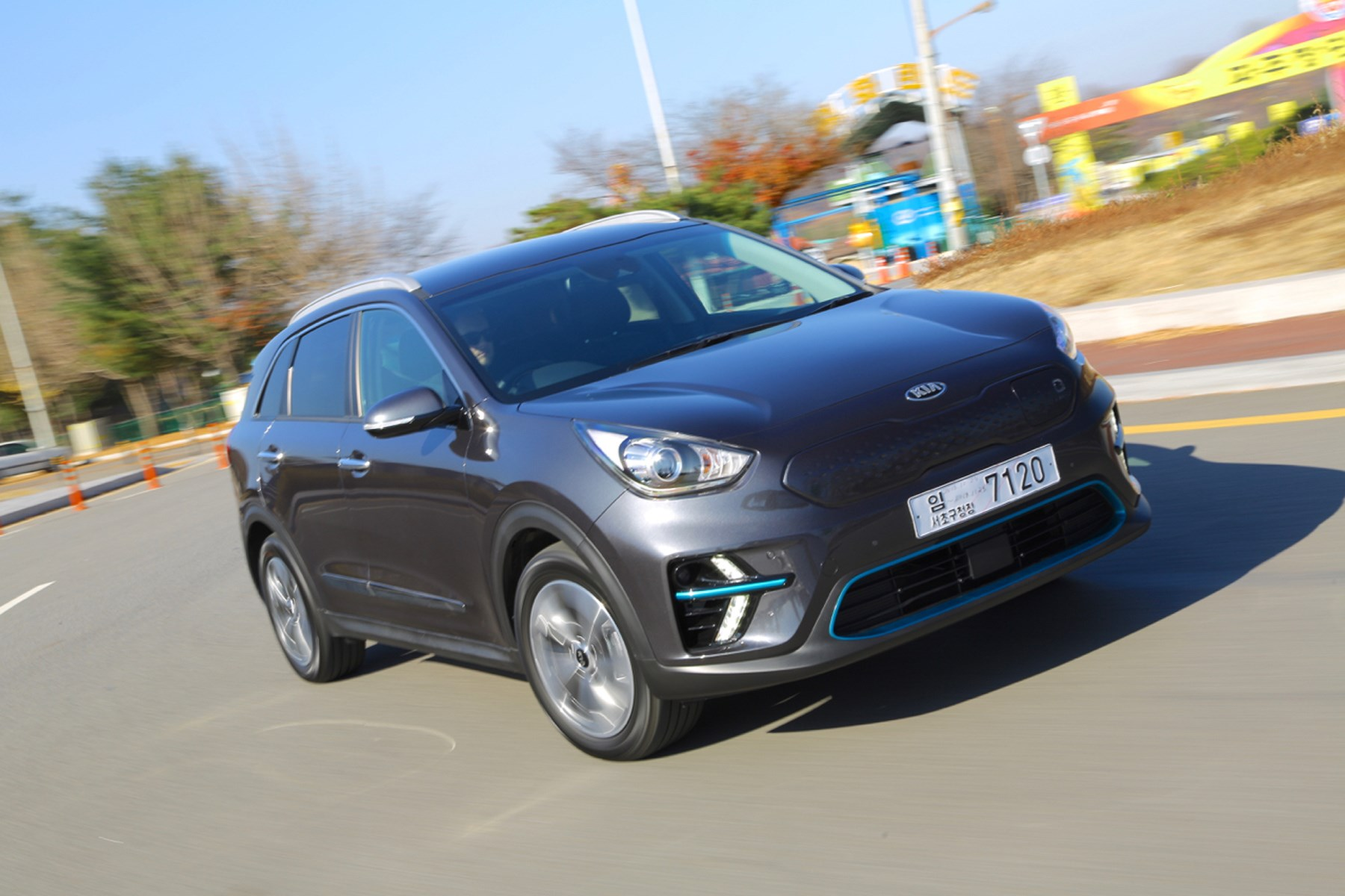 Kia E-Niro electric car EV