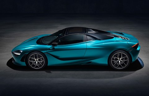 McLaren 720S Spider first pics, specs, prices and news