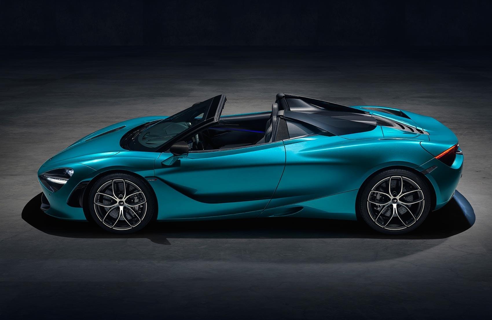Mclaren 720s Spider Mso Special Revealed At Geneva Car Magazine