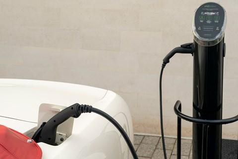 Aston Martin Heritage EV plug