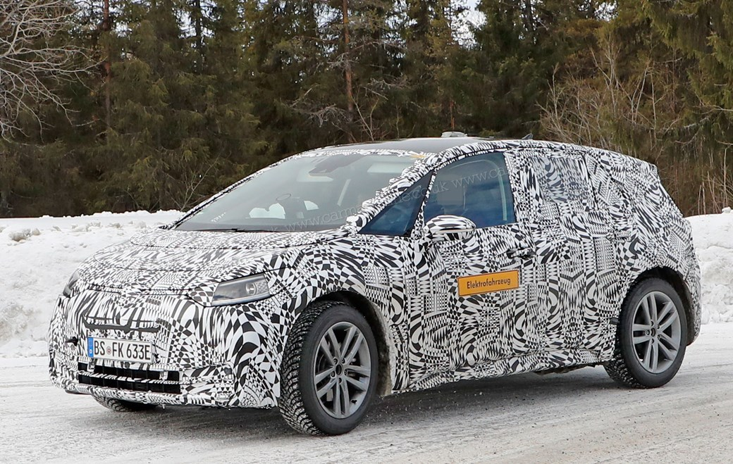 Spy Photo New Volkswagen Id Electric Car