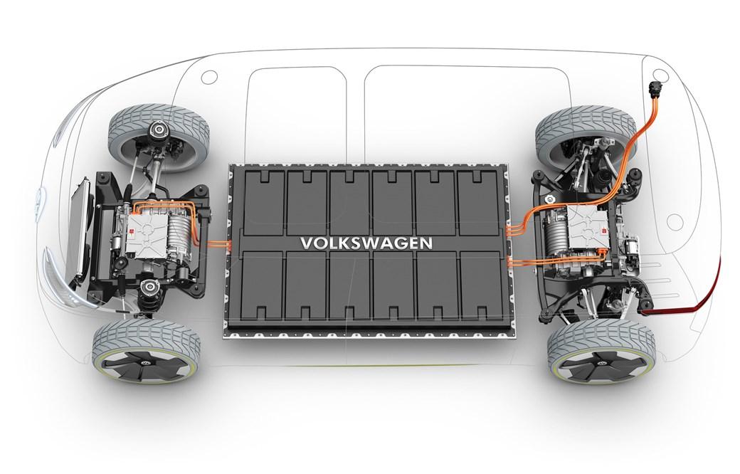 VW electric car battery