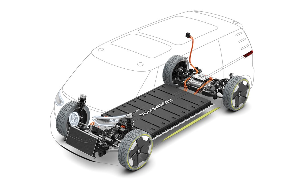VW ID Buzz shows how a camper van or high-sided commercial vehicle can be electrified