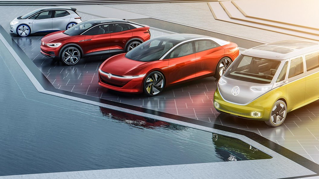 Volkswagen is planning a whole family of ID-badged electric cars and vans