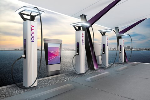 Ionity: VW electric car charging