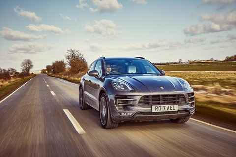Porsche Macan Turbo Performance Pack