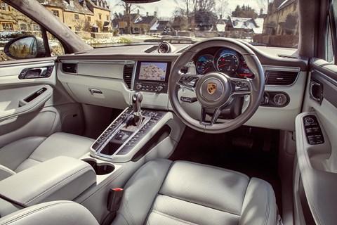 Porsche Macan interior: a quality cabin