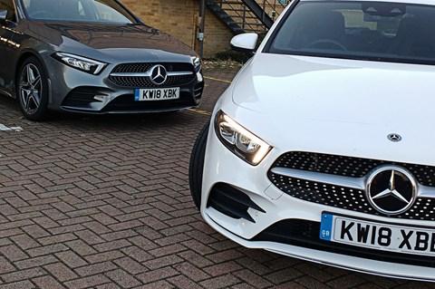 Mercedes A200 vs A180d