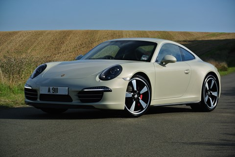Porsche 911 press demonstrator A911 - this one's the 50th special