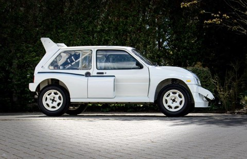 MG Metro 6R4 Clubman roadgoing rally car