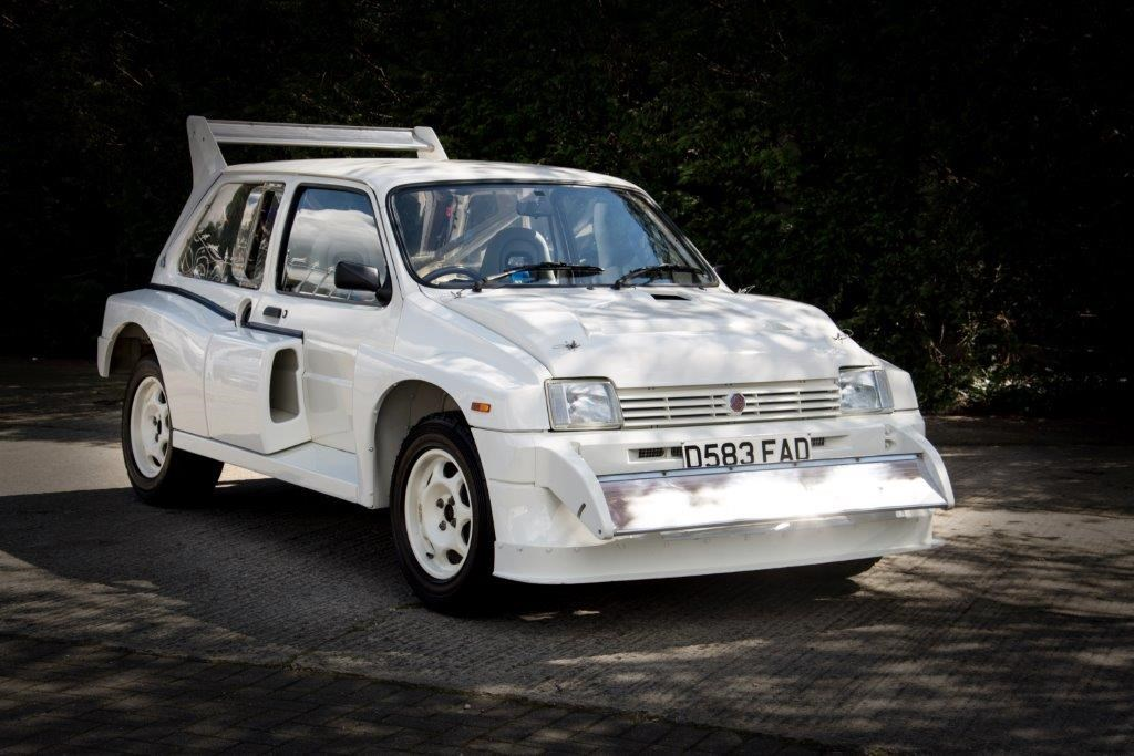 85e2cf965f8f Your chance to buy a roadgoing MG Metro 6R4 rally car ...