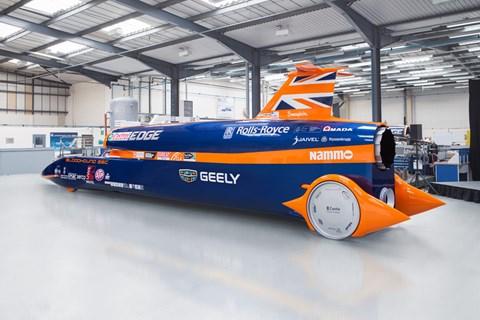 Bloodhound SSC land speed record car
