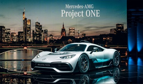 The Mercedes-AMG One hypercar