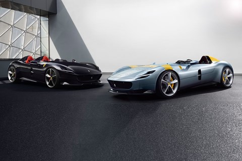 Ferrari Monza SP1 and SP2 twins