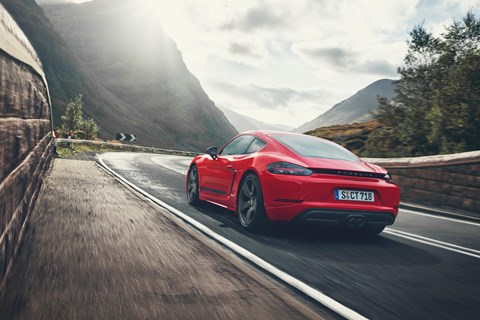 The Porsche 718 Cayman T