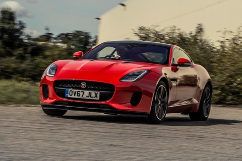 Jaguar F-Type P300 cornering