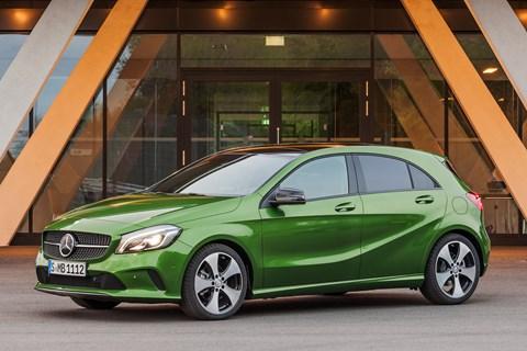 Mercedes A-Class Mk3 front