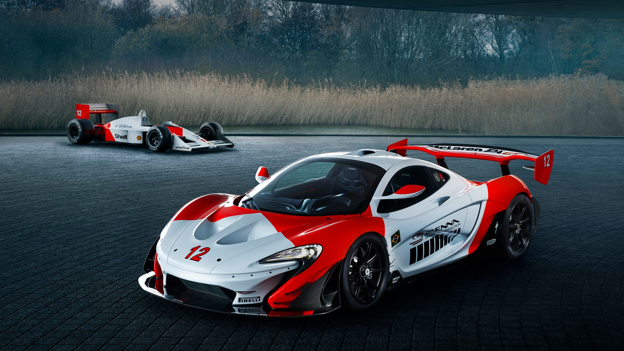 McLaren P1 GTR by MSO pays homage to Senna's first F1 championship