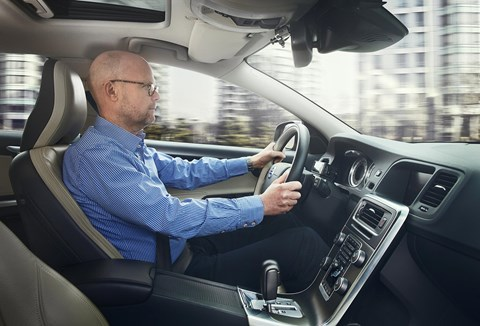 Volvo has been filming drivers in tests for years