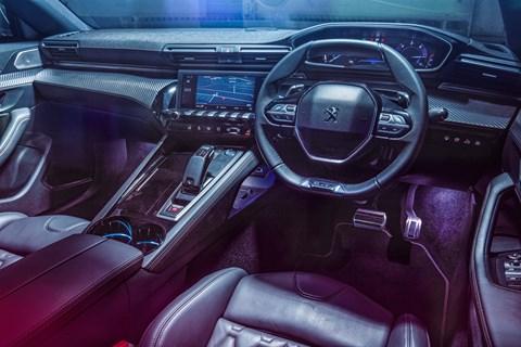 3-series group 508 interior