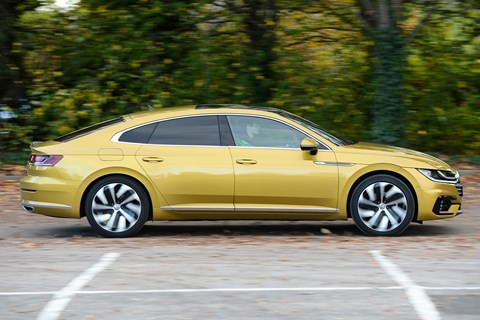 VW Arteon side