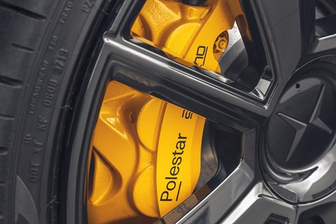 polestar 2 experimental brakes