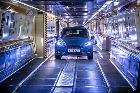 Fiesta ST eurotunnel