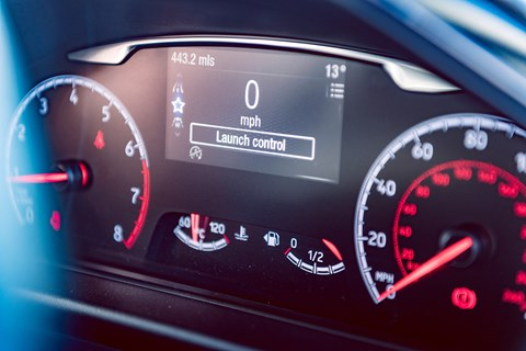 Fiesta ST launch control