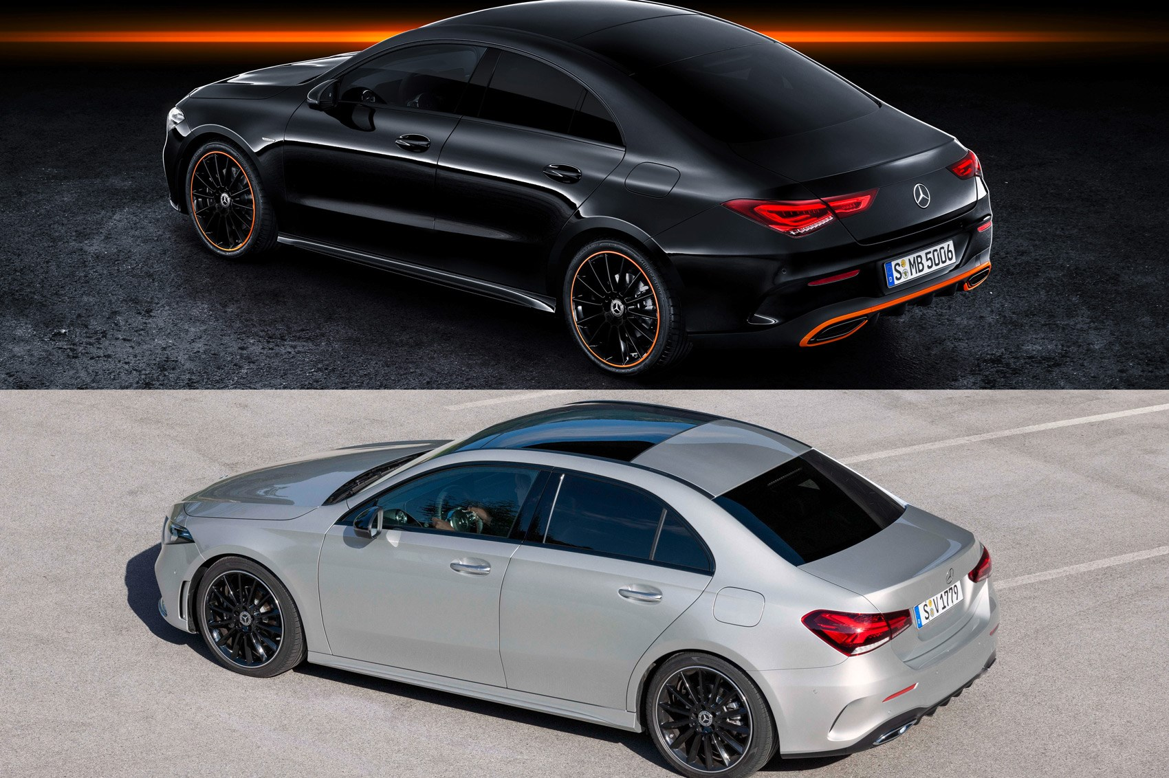 Sedan Vs Coupe >> Seeing Double Why Merc S Cla And A Class Saloon Don T Make