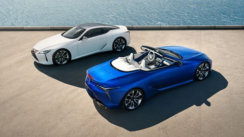 Lexus LC Coupe and Convertible: which would you pick?