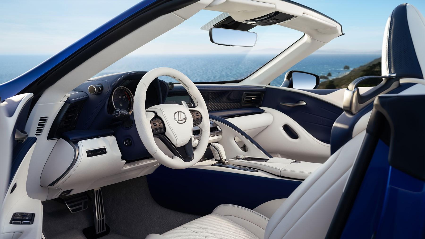 Lexus Lc Convertible Revealed Car Magazine